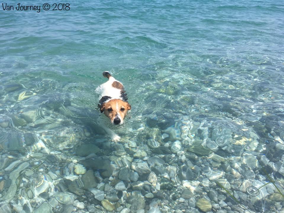 Litochoro beach, Greece
