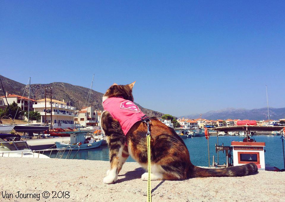 Monemvasia, Peloponnese – plus a bit of van maintenance on the road!