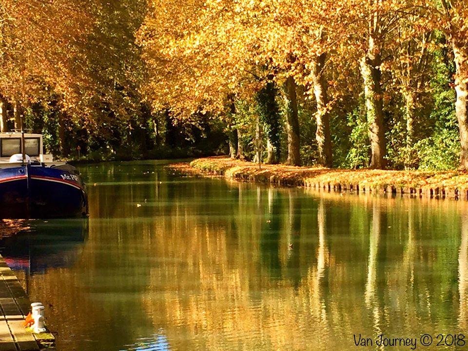 La Garonne river, France