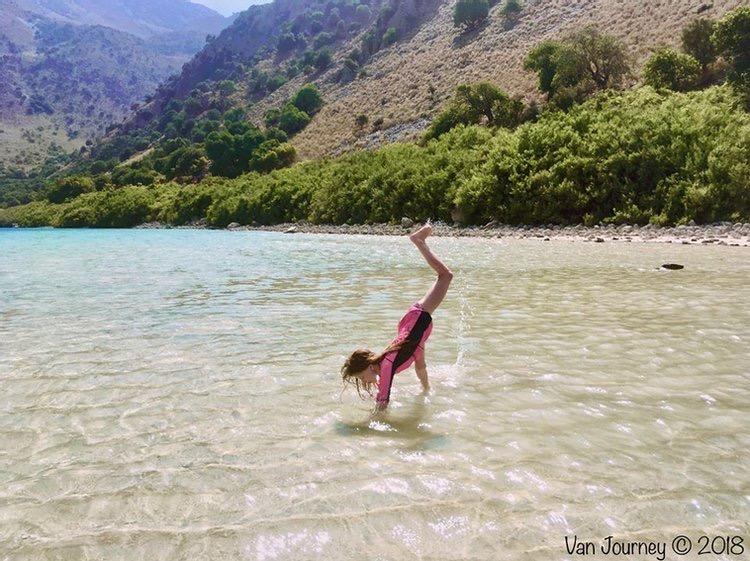 Lake Kournas and Georgioupoli, Crete