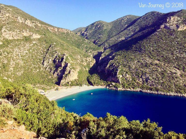 Vlychada Beach, Peloponnese