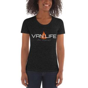 VAN LIFE Women's Crew Neck Tee
