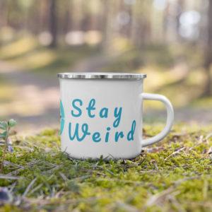 Stay Weird Adventure (Enamel) Mug